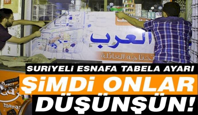 Urfa'da Arapça Yazılı Tabelalar Sökülüyor