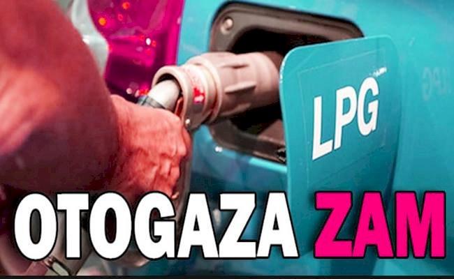 LPG Fiyatına 27 Kuruş Zam Geldi