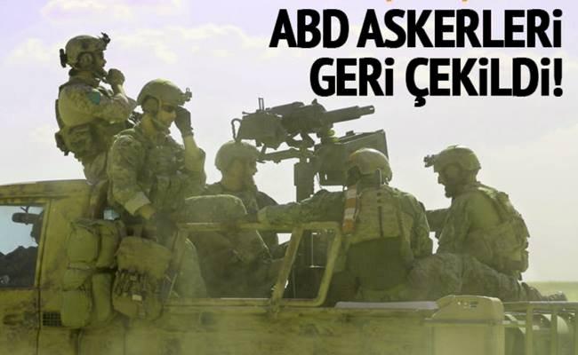 ABD Askerleri  Kobani'den Çekildi