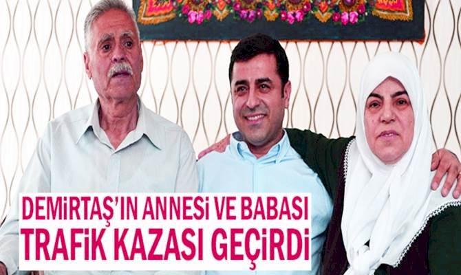 Cezaevi Ziyaretine Giden Demirtaş  Ailesi Kaza Yaptı