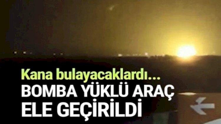 Urfa'da Yakalanan Bomba Yüklü Araç İmha Edildi