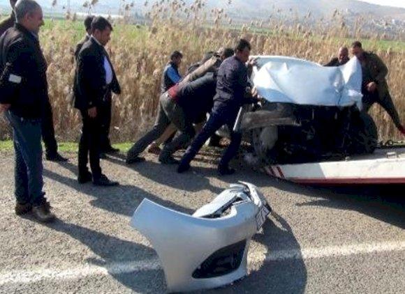 Urfa'da Trafik Kazası 5 Kişi Yaralandı