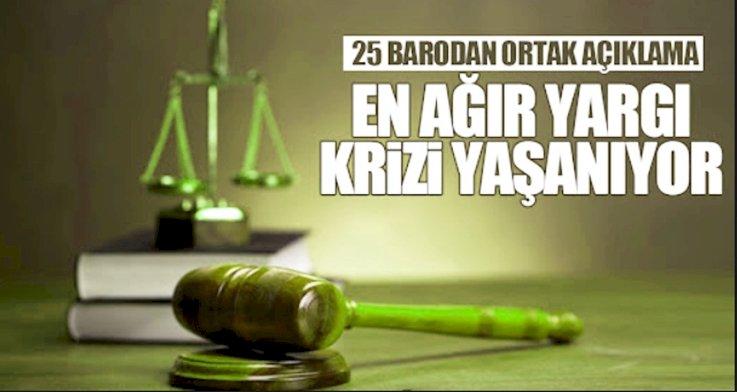 25 Baro Açıklama Yaptı HSK  Siyasileşti