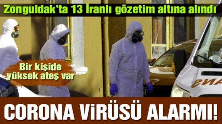 Corona Virüs Şüphesi İle 13 İranlı Şöför Gözlem Altına Alındı