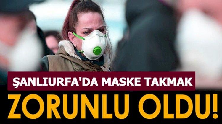 Urfa'da Maskesiz Dışarı Çıkanlara Ceza Kesilecek