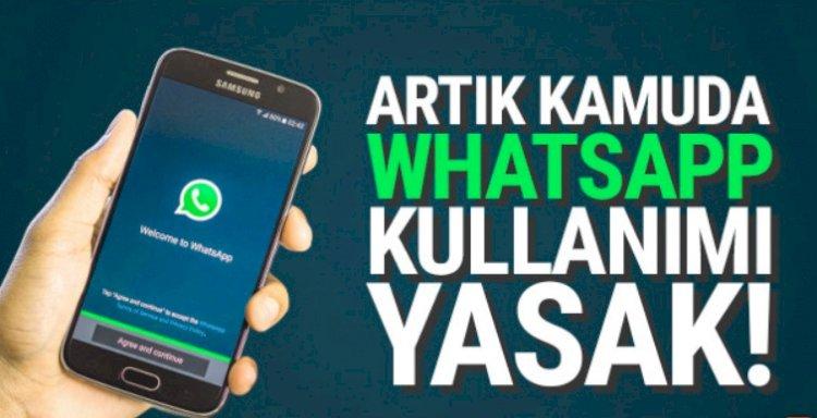 WhatsApp'ın Kamuda Kulanılması Yasaklanıyor