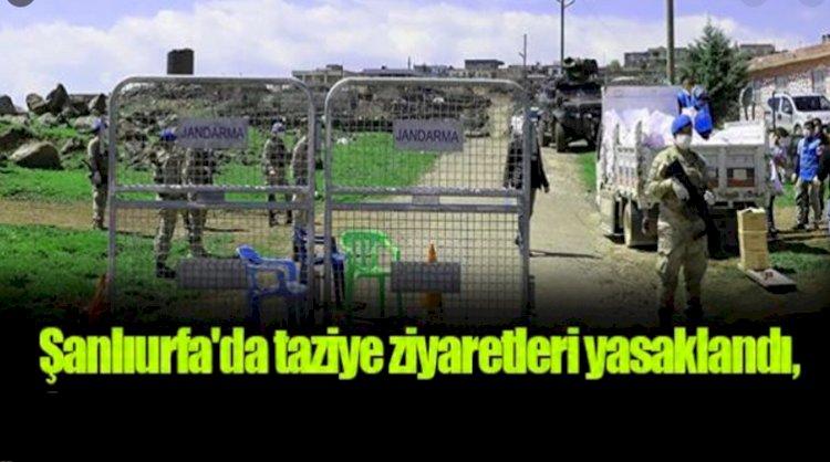 Urfa'da Taziyeler Yasaklandı