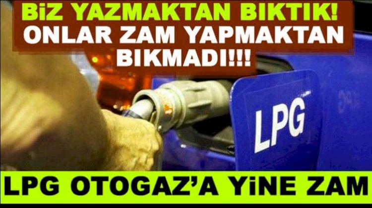 LPG Otogaza Bu Gece Zam Geliyor