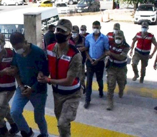 Urfa'da Kablo Hırsızlık Zanlıları Tutuklandı
