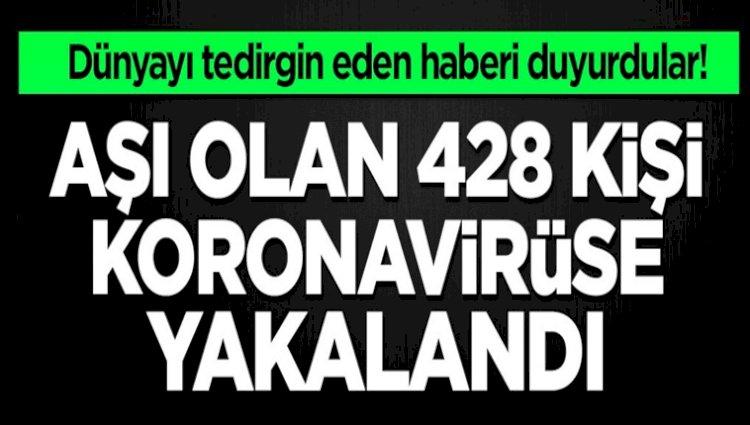 Virüs Aşısı Olan 428 Kişi Virüse Yakalandı
