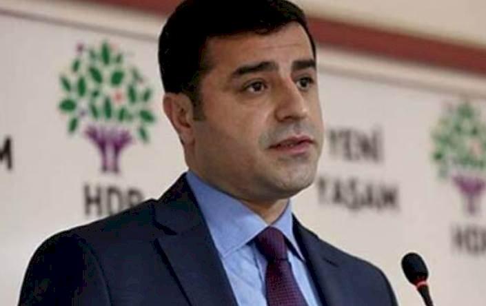 Demirtaş Hadsizler HDP'ye Ayar Veremez
