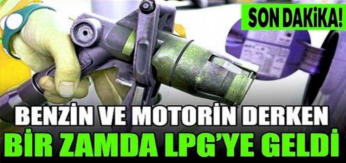 Araç Sahipleri Müjde Akaryakıt ve LPG'ye Zam