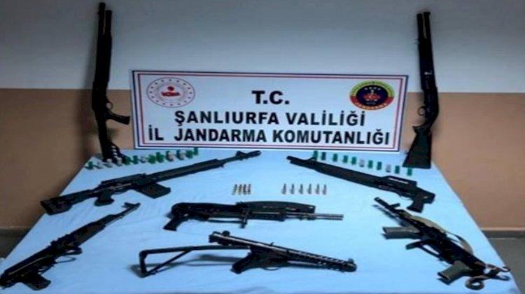 Urfa'da Jandarma Operasyonunda Cephanelik Bulundu