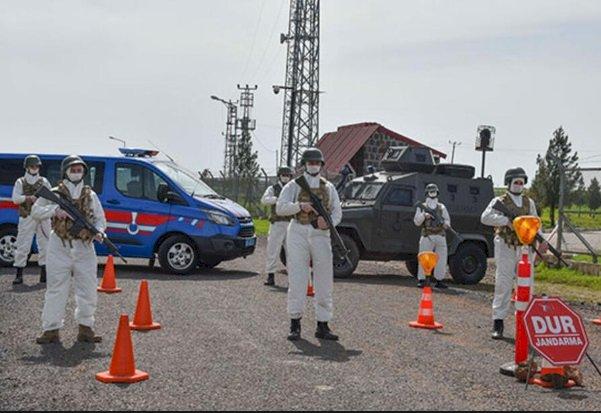 Urfa'da 19 Bina Karantinaya Alındı