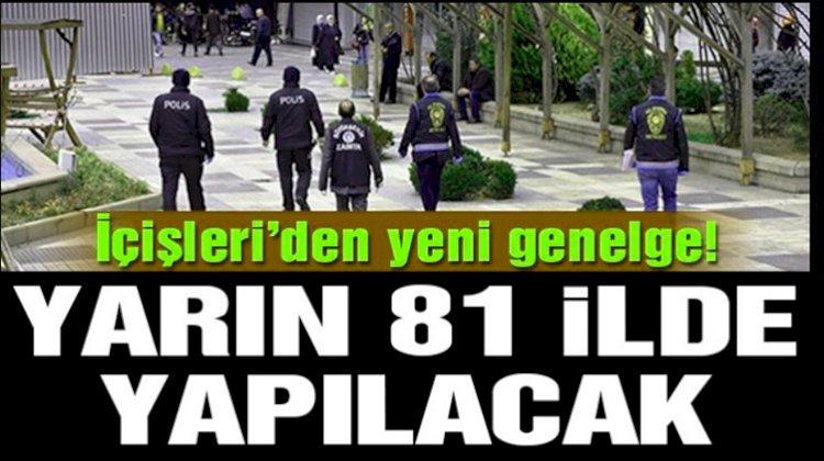 Türkiye Geneli Korona Denetimi Yapılacak