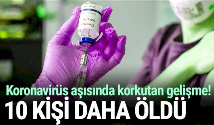 Virüs Aşısından 10 Kişi Öldü