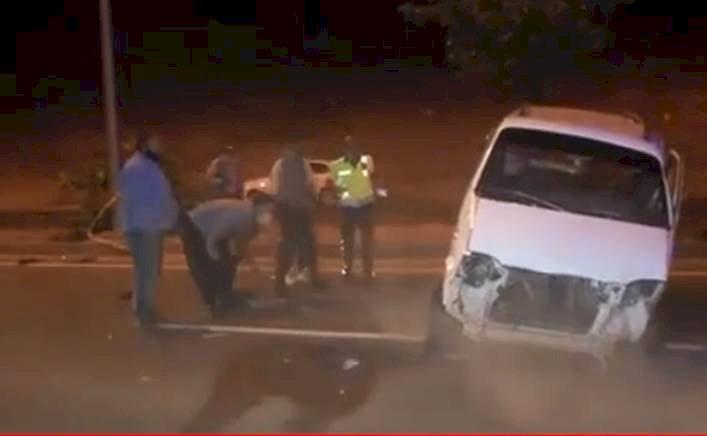 Urfa'da  Trafik Kazası 7 Kişi Yaralandı