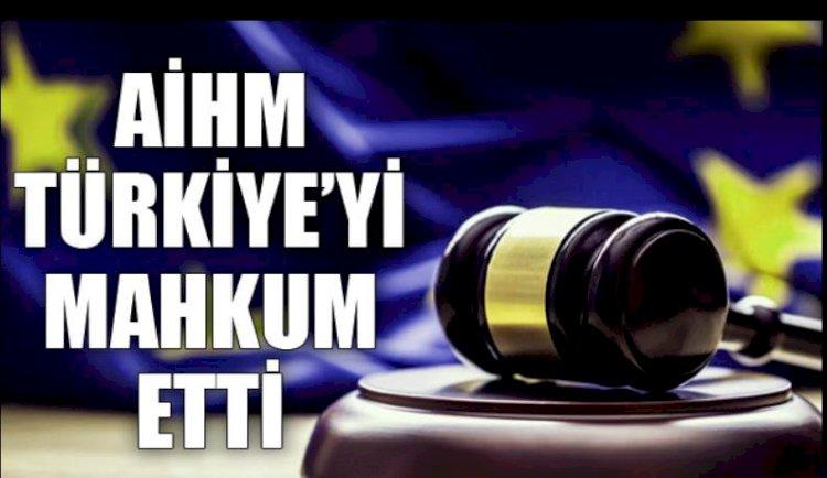 AİHM 5 Davada Türkiye'yi Mahkum Etti